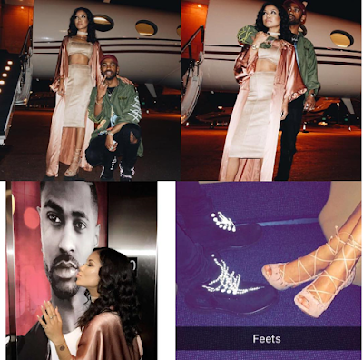 Gossip: Jhene Aiko & Big Sean Keep Fueling Dating Rumors As They Kiss On Stage