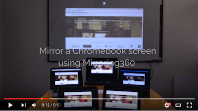 Here Is A Good App to Wirelessly Mirror Your Chromebook to