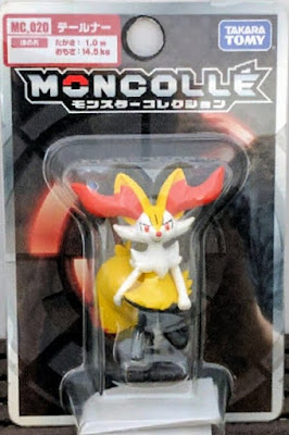 Braixen figure Takara Tomy Monster Collection MONCOLLE MC series