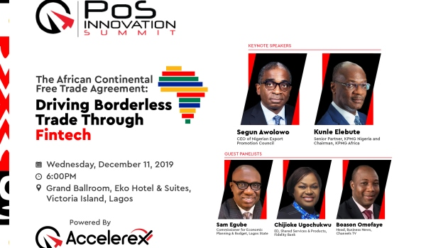 PoS Innovation Summit, 7th edition to focus on African Continental Free Trade Agreement
