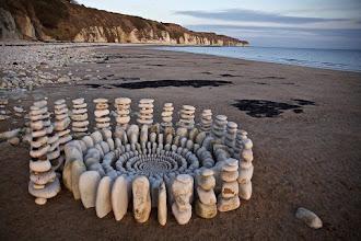 Artista transforma matérias orgânicas da floresta em verdadeiras obras de arte