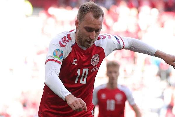 El Málaga manda mucha fuerza a Eriksen, capitán de Dinamarca