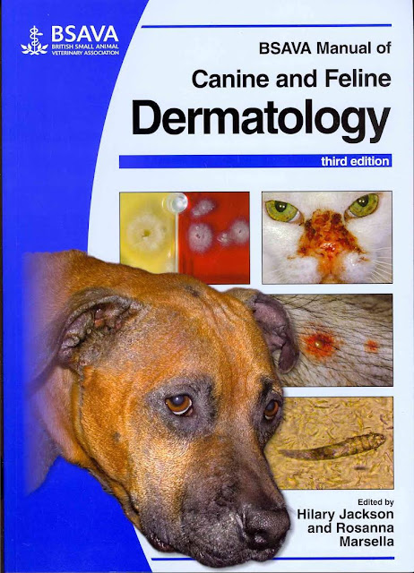 BSAVA Manual of Canine and Feline Dermatology  - WWW.VETBOOKSTORE.COM