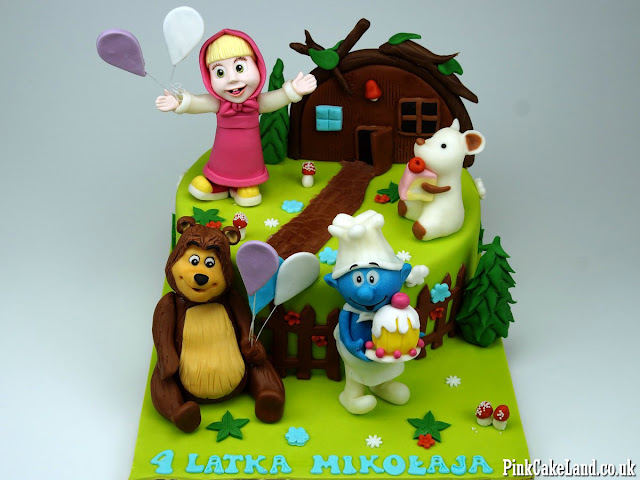 Masha and The Bear Cakes London