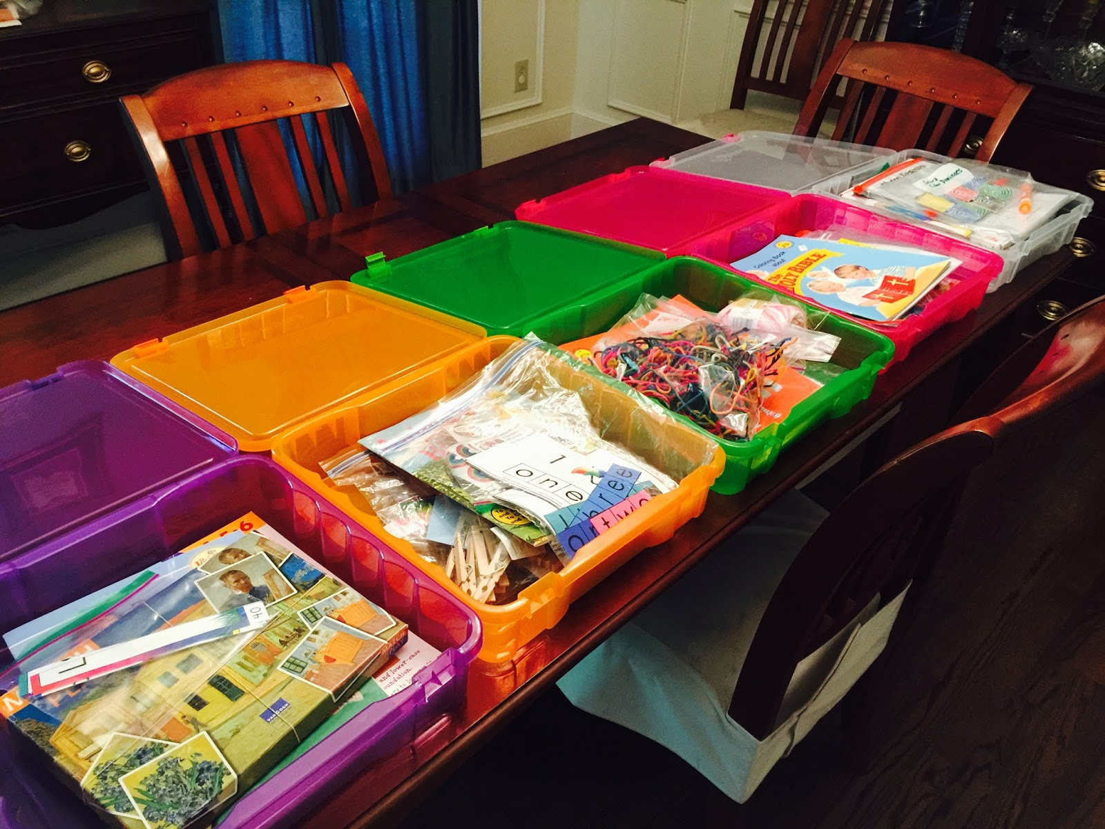 Gloria In Excelsis Deo Preschool Boxes