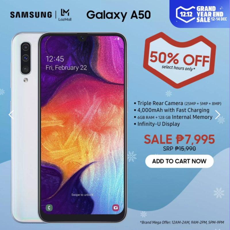 Galaxy A50 price cut