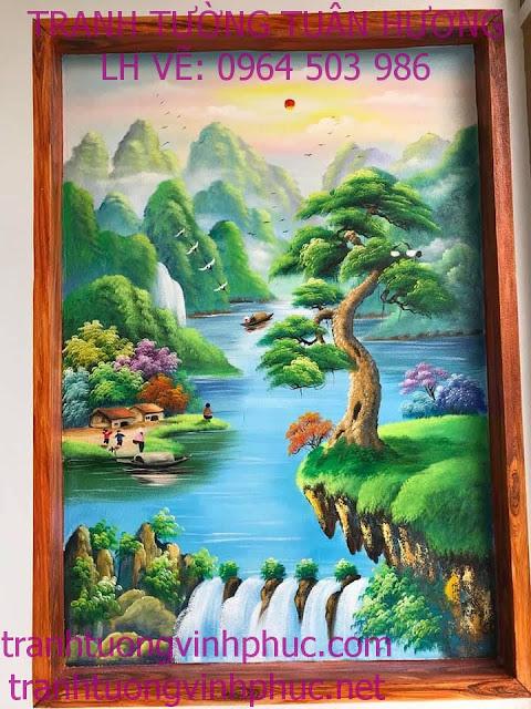 vẽ tranh 3d tại minh quang tam đảo2