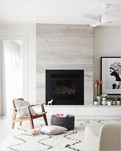 modern farmhouse fireplace surround decorating ideas