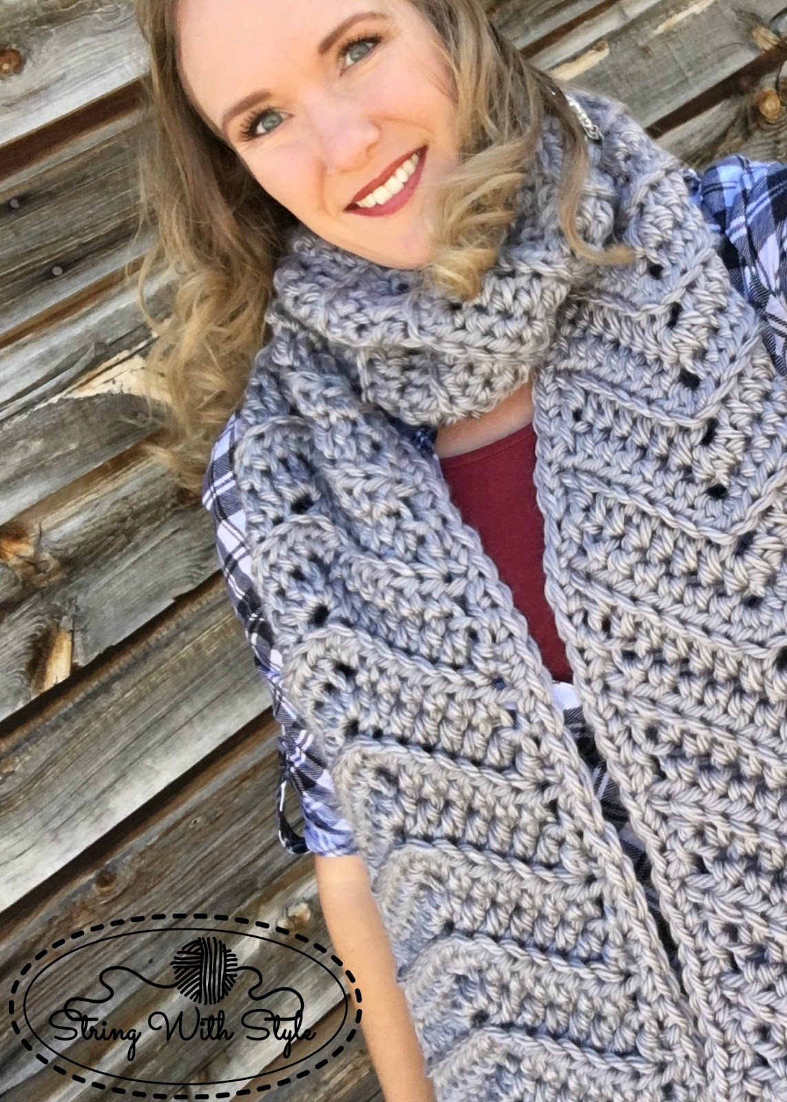 String With Style: Chevron Love Super Scarf