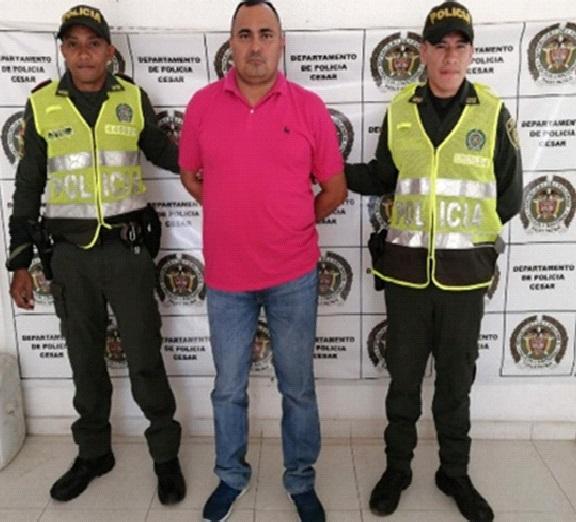 Buscado por homicidio capturado entre Valledupar y Codazzi