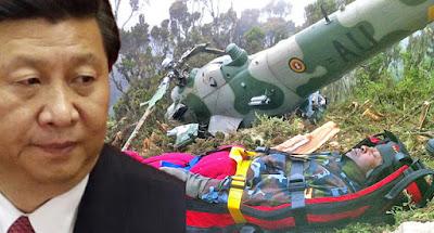 भारत को डराने के लिए युद्धाभ्यास कर रहा था चीन, फुस्स होकर गिर गया चाइनीज लड़ाकू हेलीकॉप्टर War Ind Vs Chiana