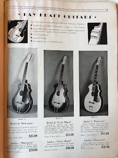 Kay Kraft guitars