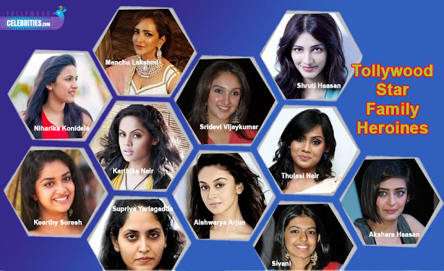 Tollywood Star Family Heroines