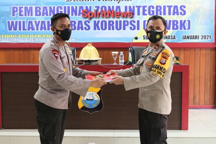 Menuju ZI-WBK, Personel Polres Takalar  Studi Banding ke Polres Gowa