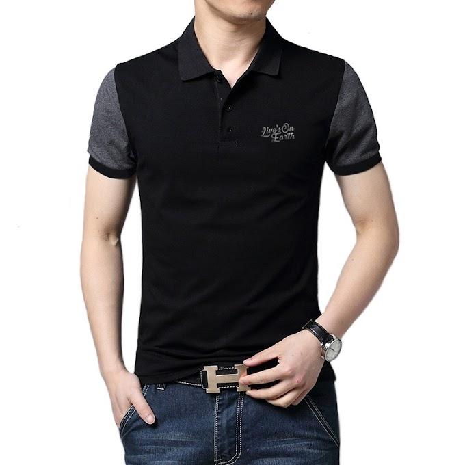 Polo Shirt Premium Black Horse