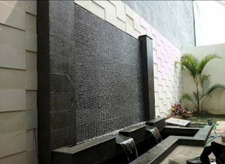 kolam water wall