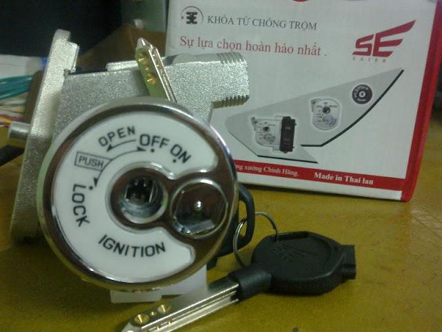 Nhận thay ổ khóa xe máy SYM giá tốt