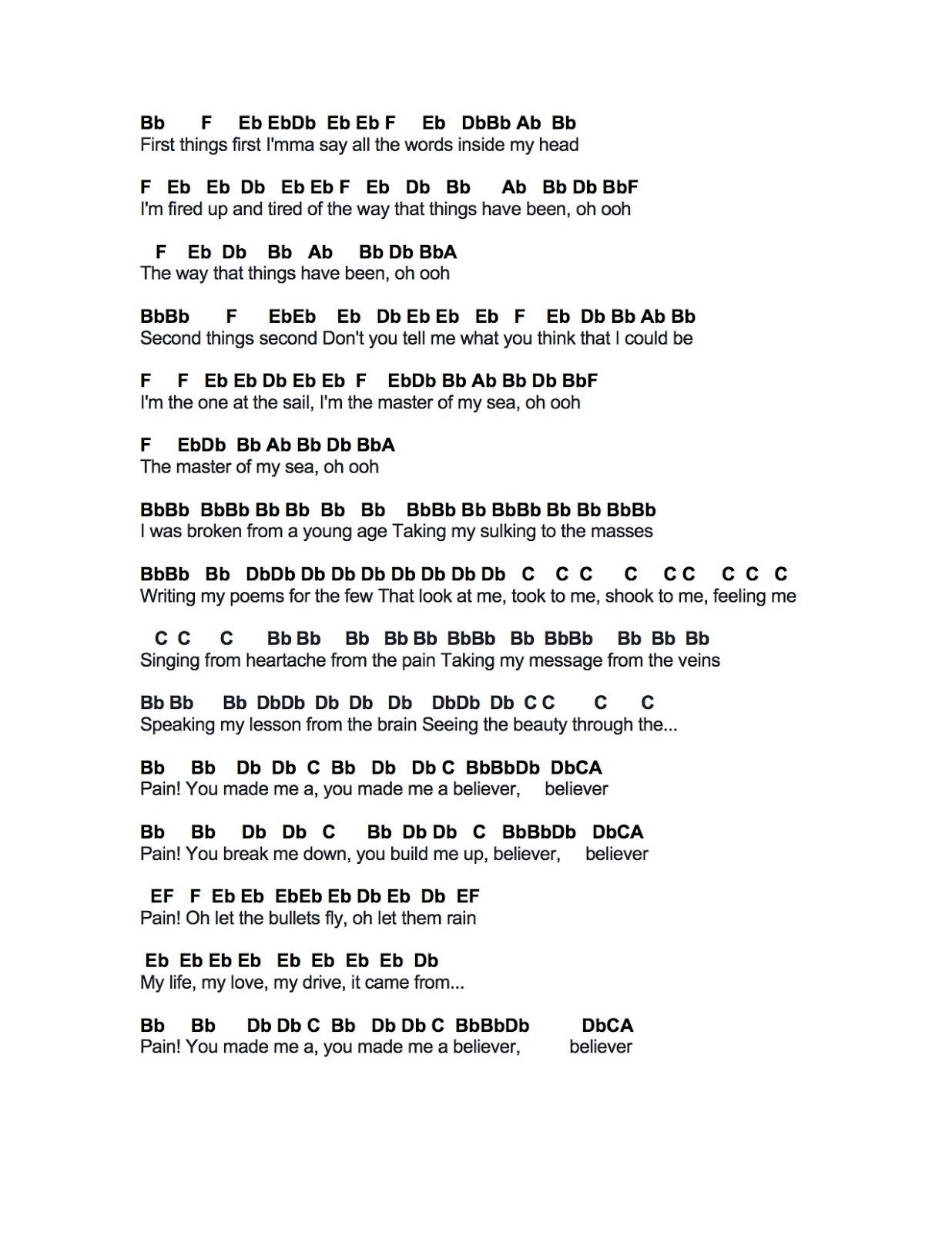 Billionaire bruno mars guitar chords