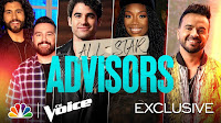Teams Kelly, Nick, Legend and Blake Reveal Their Incredible Advisors - The Voice 2021