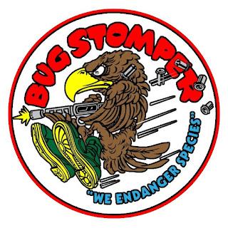 Bug Stomper Noseart Stencil