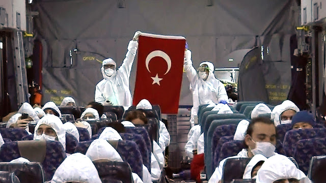 Countries Thank Turkey For Airlifting Citizens From China