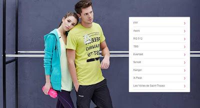 ropa sport para hombre y mujer en oferta