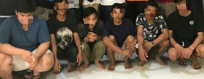Tujuh Pelaku Pemerasan di Tebo Diamankan Polisi