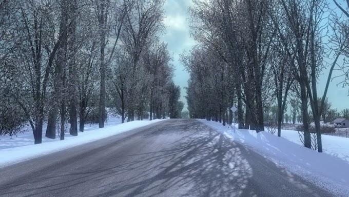 ETS 2 - Karlı Kış Modu (1.39)