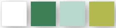 Voici la palette de couleurs Stampin' Up! utilisées