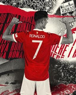 Rasmi : Ini Nombor Jersi Ronaldo Di Manchester United.