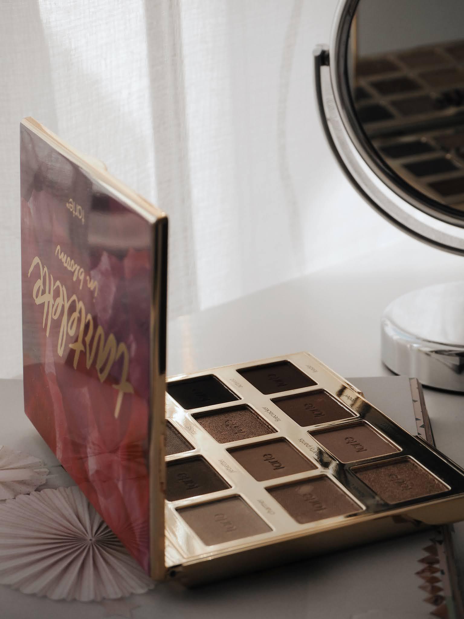 tarte, tartelette, tartelette in bloom, palette, eye palette, eye shadow palette, eye shadow, beauty, cosmetics