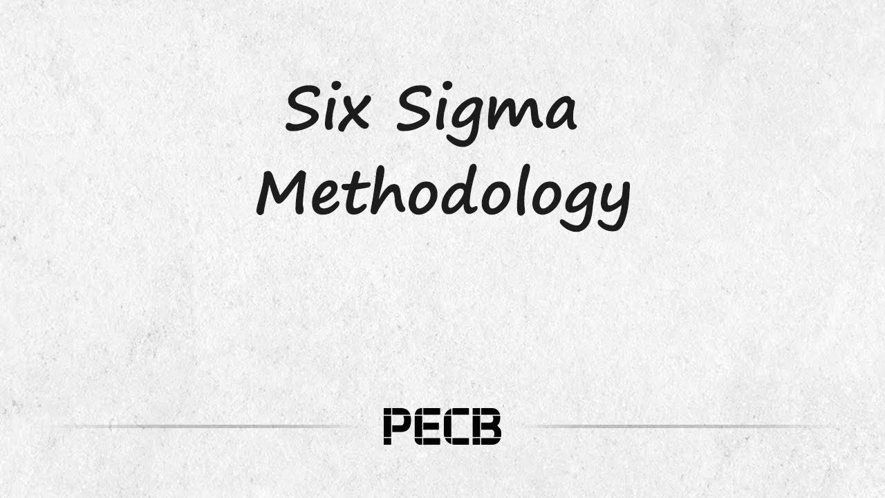 A simple explanation of Six Sigma