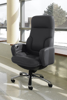 Luxurious Leather Office Chair