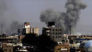 Koalisi Saudi di Yaman Serang Pangkalan Udara yang Dikuasai Teroris Houthi