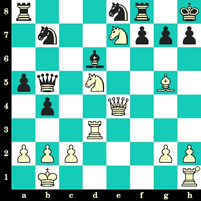 Les Blancs jouent et matent en 2 coups - Cavit Uzman vs Juan Soler, Lugano, 1968