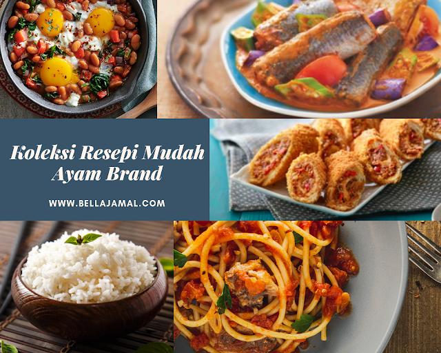 hidangan cepat mudah sempena pkp  ayam brand dudukrumah   bellarina natasya Resepi dan Jimat Enak dan Mudah