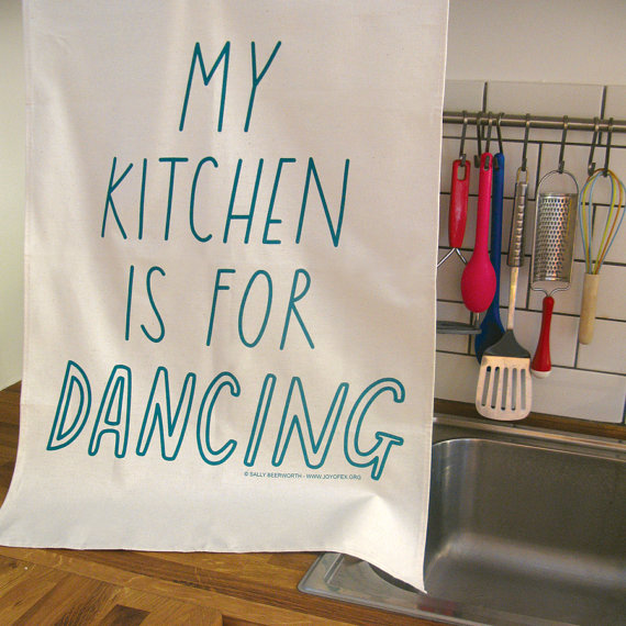 Hello! Home: My Kitchen Is For Dancing