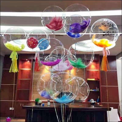 Balon PVC Transparan (Kualtas Terbaik)