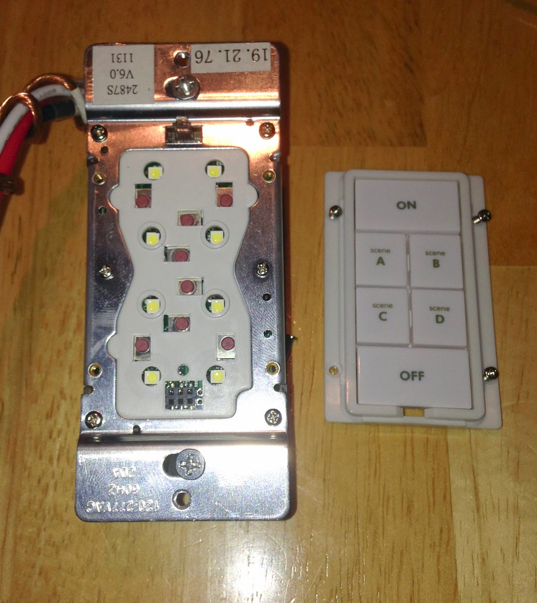 Glen S Home Automation Converting Insteon 6 Button