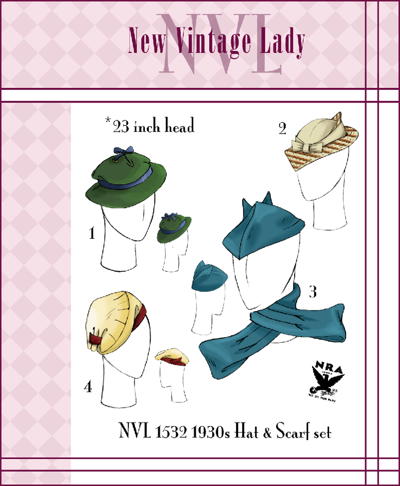 Different Styles Of Vintage Hats c6b114ec6612