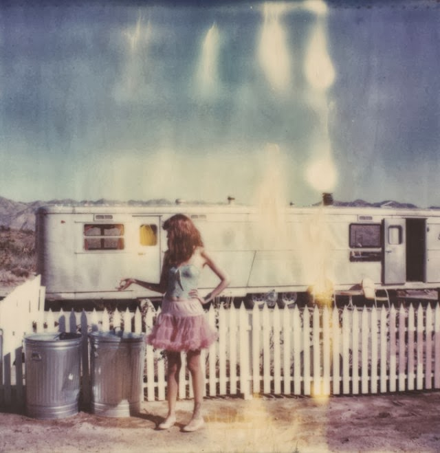 Stefanie Schneider. The Girl behind the white picket fence. Polaroid stills | Trailer