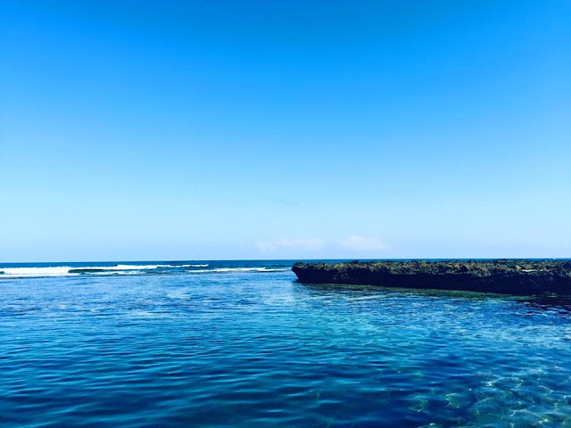 Biển dưới Hang Câu