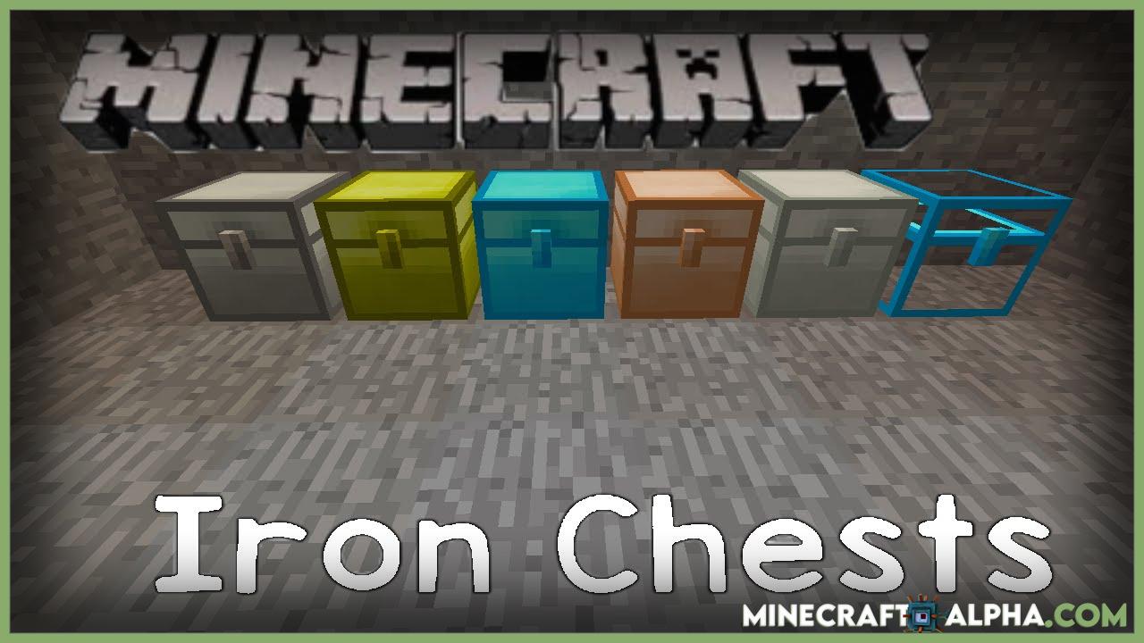 Minecraft Iron Chests Mod