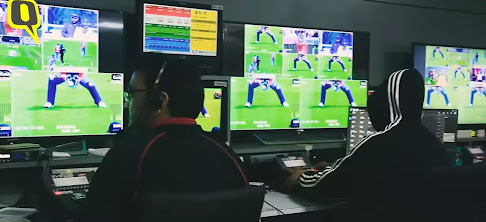 live editing broadcasts Graphics behind scenes of IPL match, All setup behind scenes of IPL match