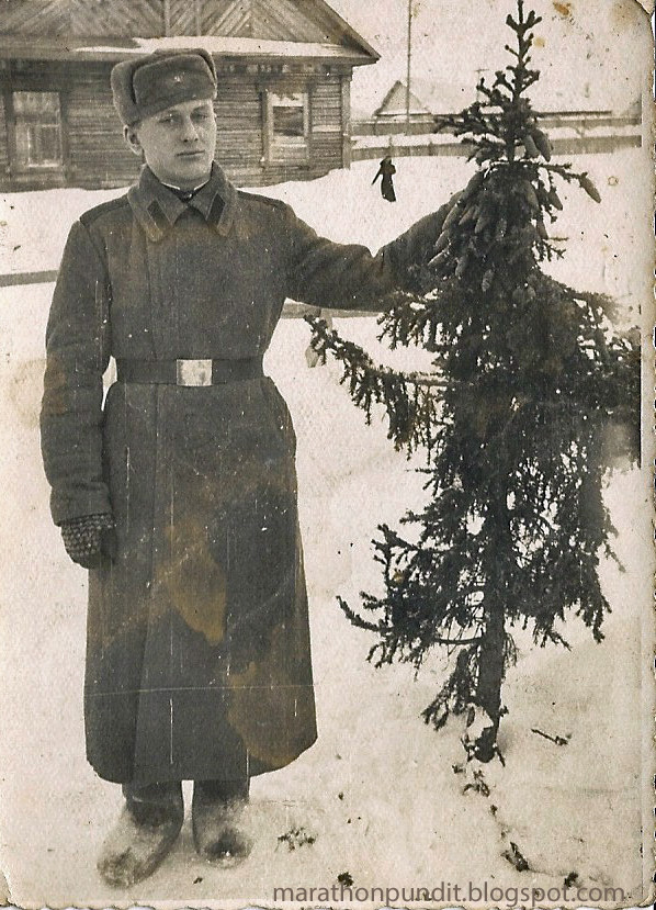 Marathon Pundit Soviet Army Christmas And New Year Cards