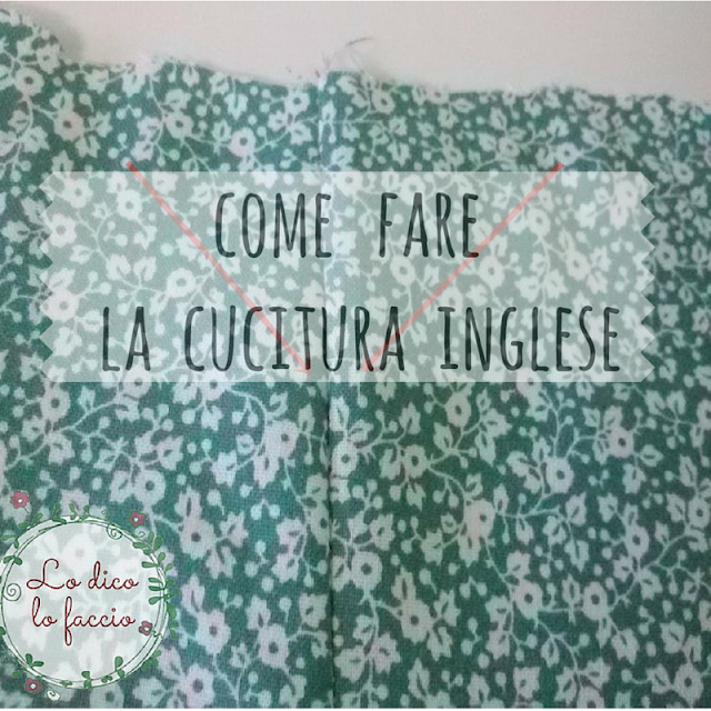 Come cucire due stoffe insieme [metodo inglese]