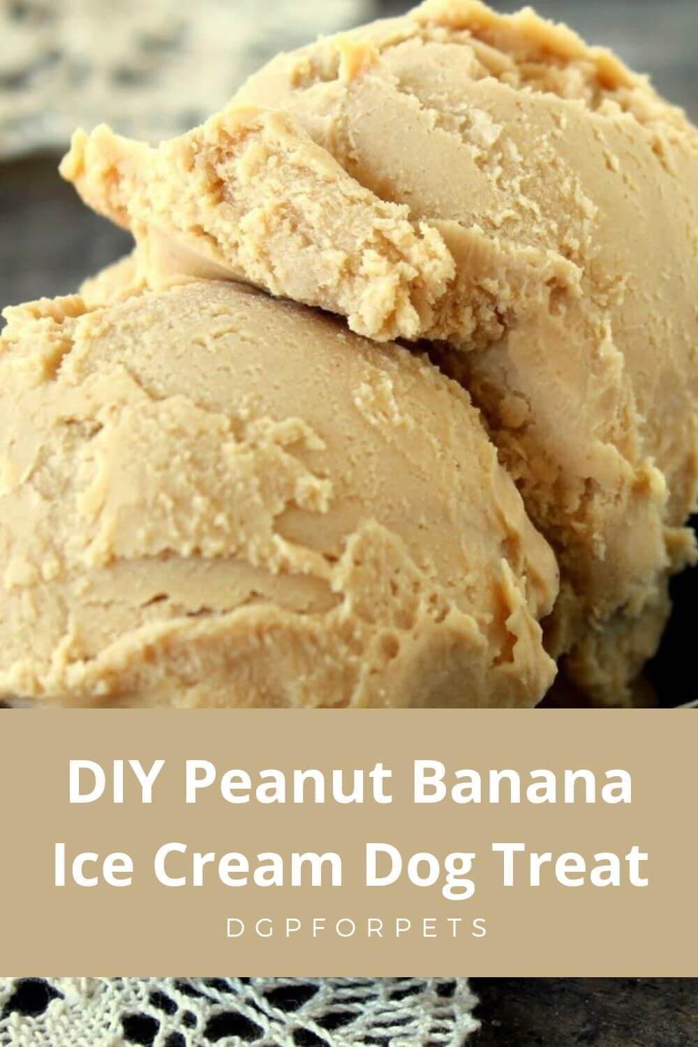 DIY Peanut Banana Ice Cream