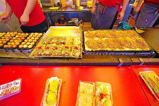 festival foods, yakisoba