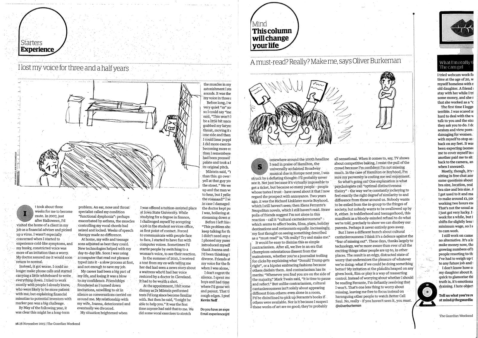 Abi Delaney - The Illustrator AD5508: Editorial Illustration