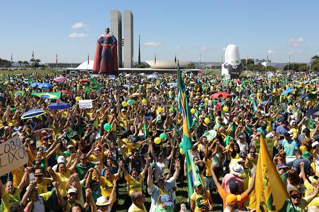 Manifestações do dia 26 - Brasília